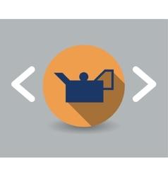 Oiler icon vector