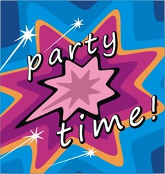 party invitations vector image