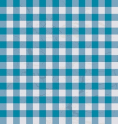 table cloth blue vector image vector image