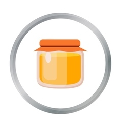 Honey icon of for web and vector