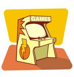 Retro games vector