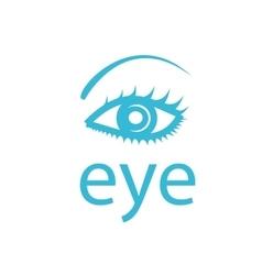 logo eye vector image