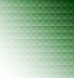 Abstract green mosaic design background vector image