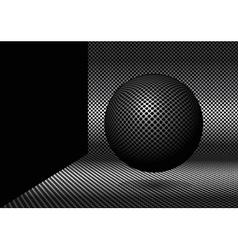 3d ball vector image