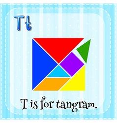 Tangram vector image