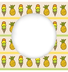 Icons summer only exlipa seam 17-x cut mesh vector