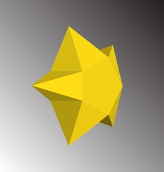 Abstract star icon vector image
