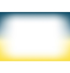 Blue Teal Yellow Copyspace Background vector image