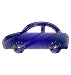 Car sign vector