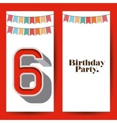 Happy birthday design vector