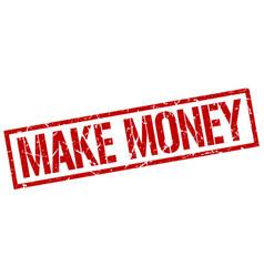 Make money stamp vector