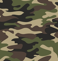 Camouflage pattern background seamless vector
