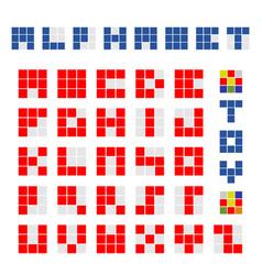 Cubic alphabet vector
