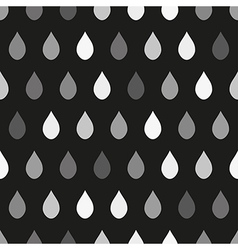 Gray Rain Dark Background vector image
