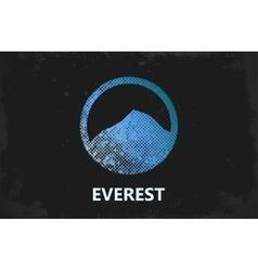 Mountain logo design everest logo mountain vector