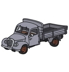 Old truck vector image vector image