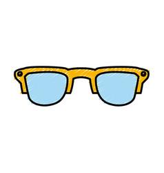 sunglasses fashion style vector image