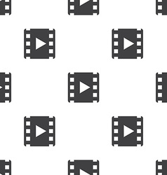 media seamless pattern vector image