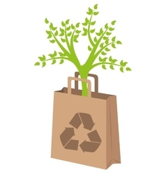 Go green and ecology vector