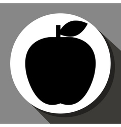 Appe fruit icon vector