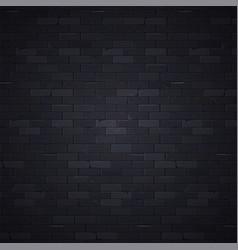 black wall 1 vector image