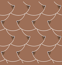breasts african american pattern boobs texture vector image