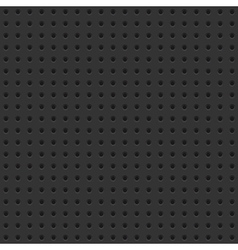 Dark Perforated Board Seamless Background Tile vector image vector image