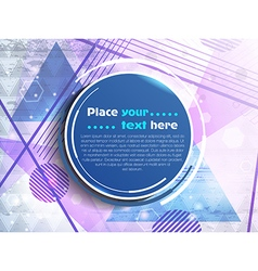 for text banner vector image