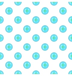 Optical sight pattern cartoon style vector