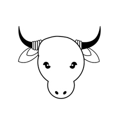 Cow icon animal design graphic vector