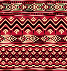 afrikan pattern seamless vector image vector image