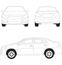 City car vector image