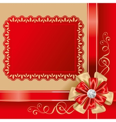 gift box top vector image