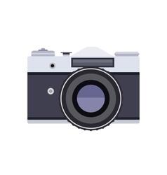 Old retro camera vector image vector image