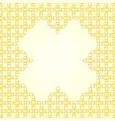 Thai art pattern background vector image
