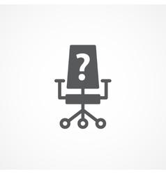 Vacancy icon vector