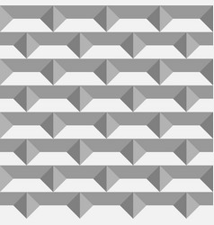3d paper bricks seamless pattern vector image vector image