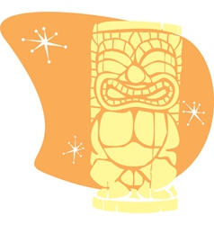Retro tiki vector