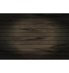 Black empty chalkboard background vector image