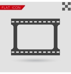 Film strip with space for your text or vector
