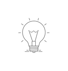 Ideas line icon vector