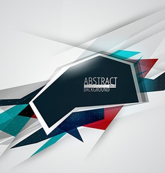 Futuristic abstract lines background vector