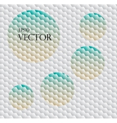 Seamless background with hex grid vector