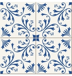 Seamless turkish moroccan portuguese tiles vector