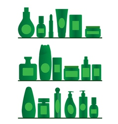 bathroom shelves vector image