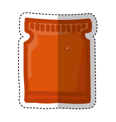 coffee bag product icon vector image