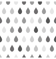 Gray Rain White Background vector image vector image