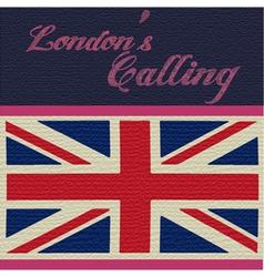 London Calling vector image