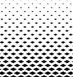 Black and white rhombus pattern background vector