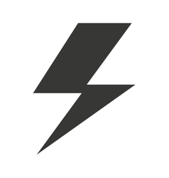 Electric symbol isolated icon design vector